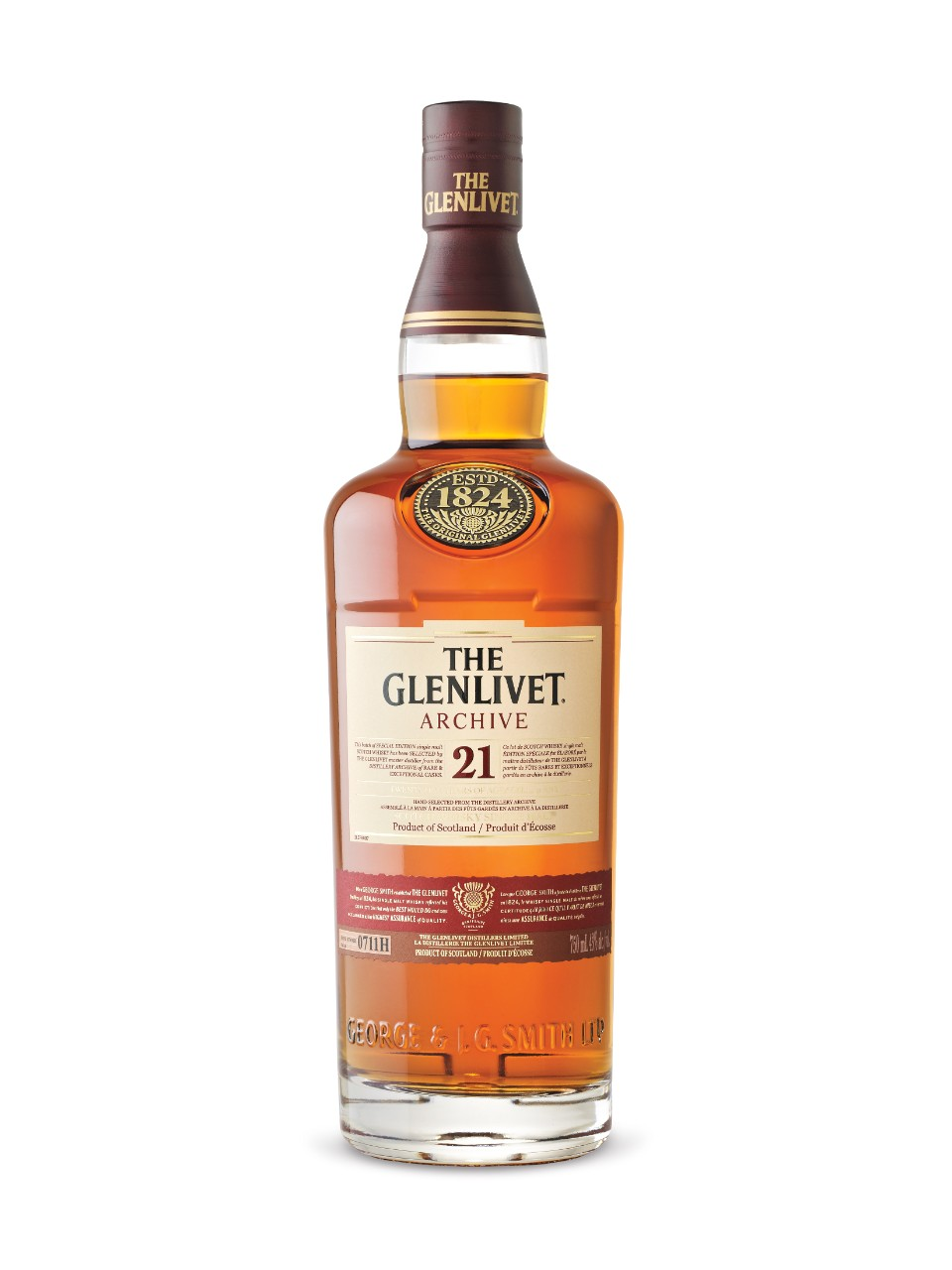 Image for The Glenlivet Archive 21 Year Old Scotch Whisky from LCBO