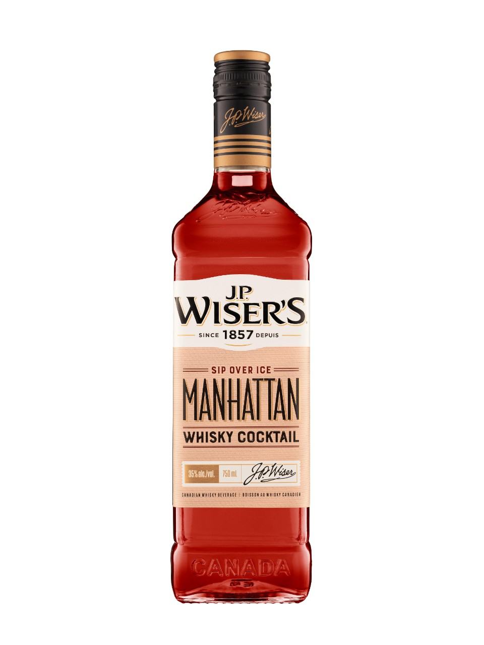 Image for J.P. Wiser's Manhattan Canadian Whisky from LCBO