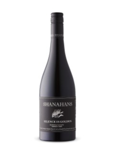 Shanahans Silence Is Golden Shiraz 2016