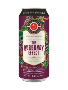 Brickworks Ciderhouse Burgundy Effect