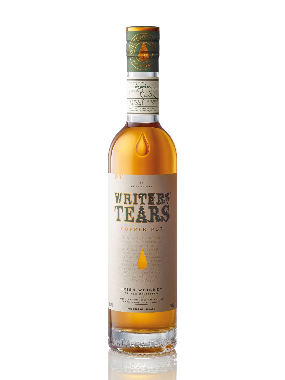 Image for Writer's Tears Copper Pot Irish Whiskey from LCBO