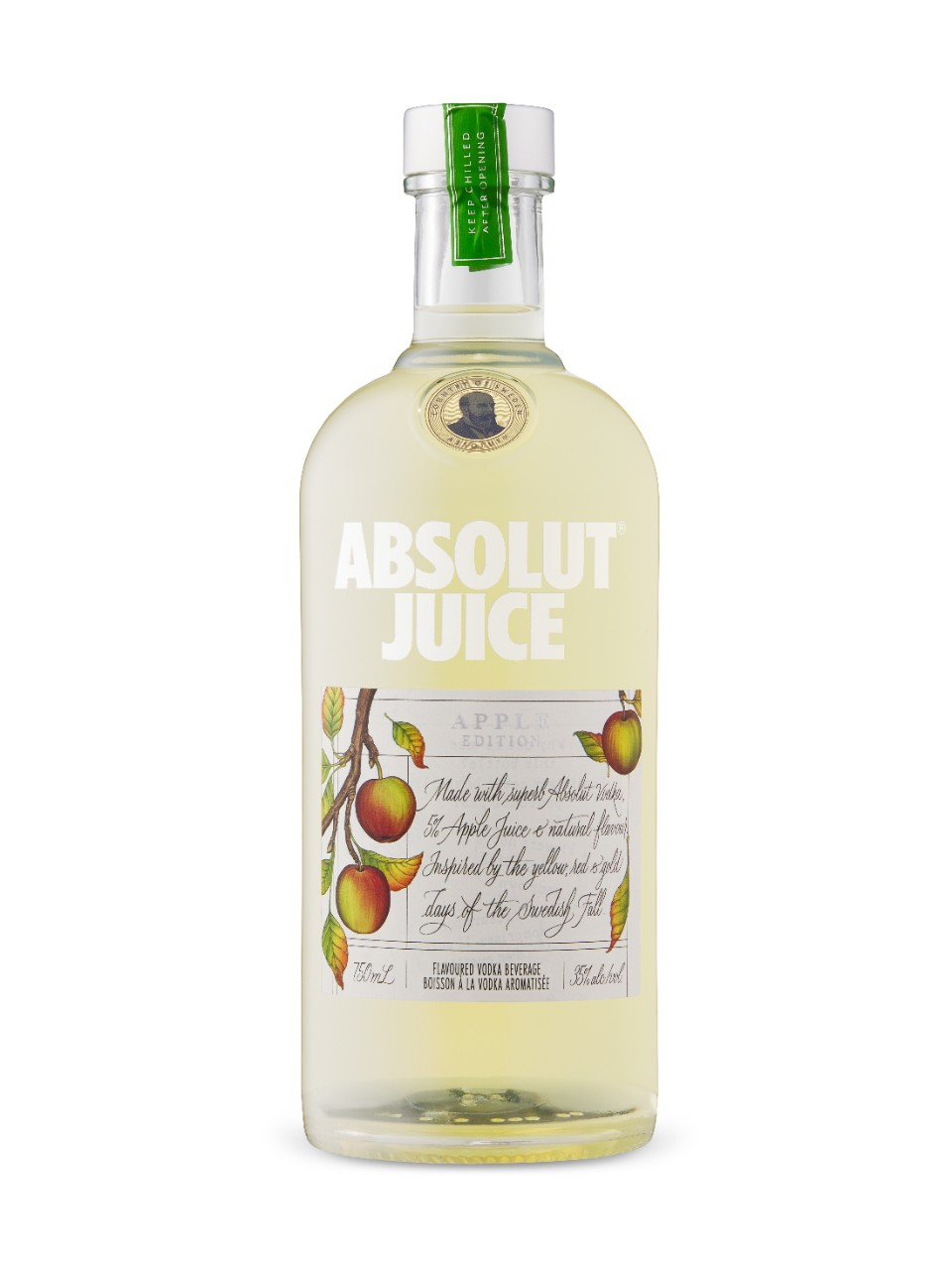 Image for Absolut Juice Apple Edition from LCBO