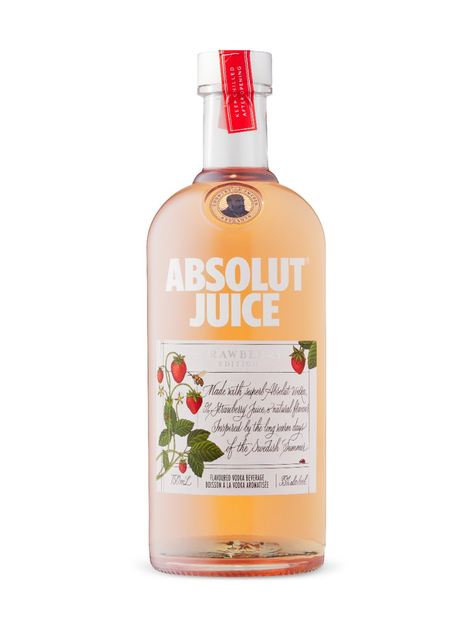 Absolut Juice Strawberry Edition from LCBO