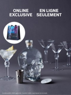 Crystal Head Vodka Halloween Party Box Online Exclusive
