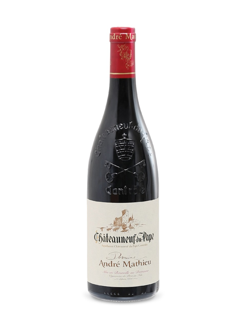 Domaine André Mathieu Cuvée Tradition Châteauneuf-du-Pape 2016 from LCBO