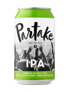 Partake Brewing Non-Alcoholic IPA