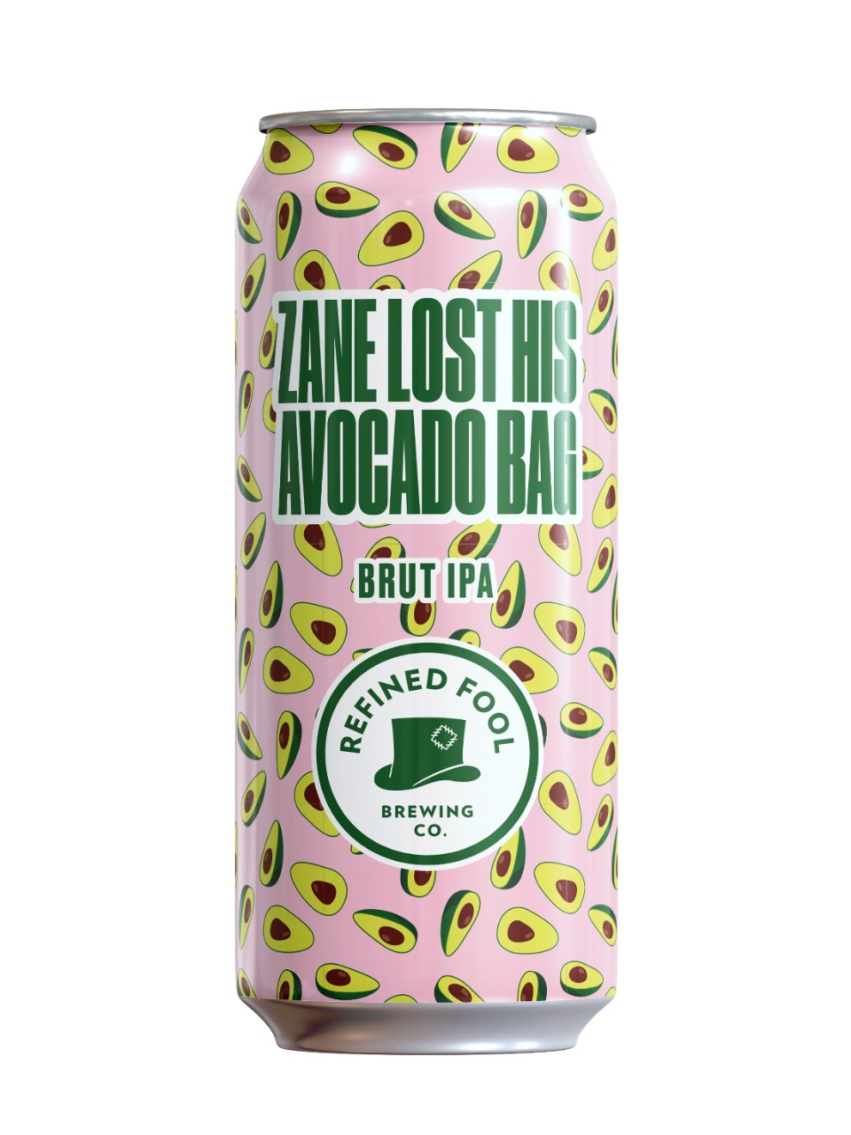Refined Fool, Zane Lost His Avocado Bag, Brut IPA from LCBO
