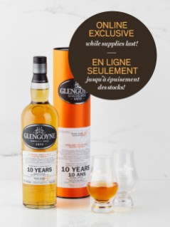 Glengoyne 10 Year Old With Glasses Online Exclusive