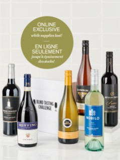 Tour the World of Wine + Blind Tasting Challenge Kit Offer