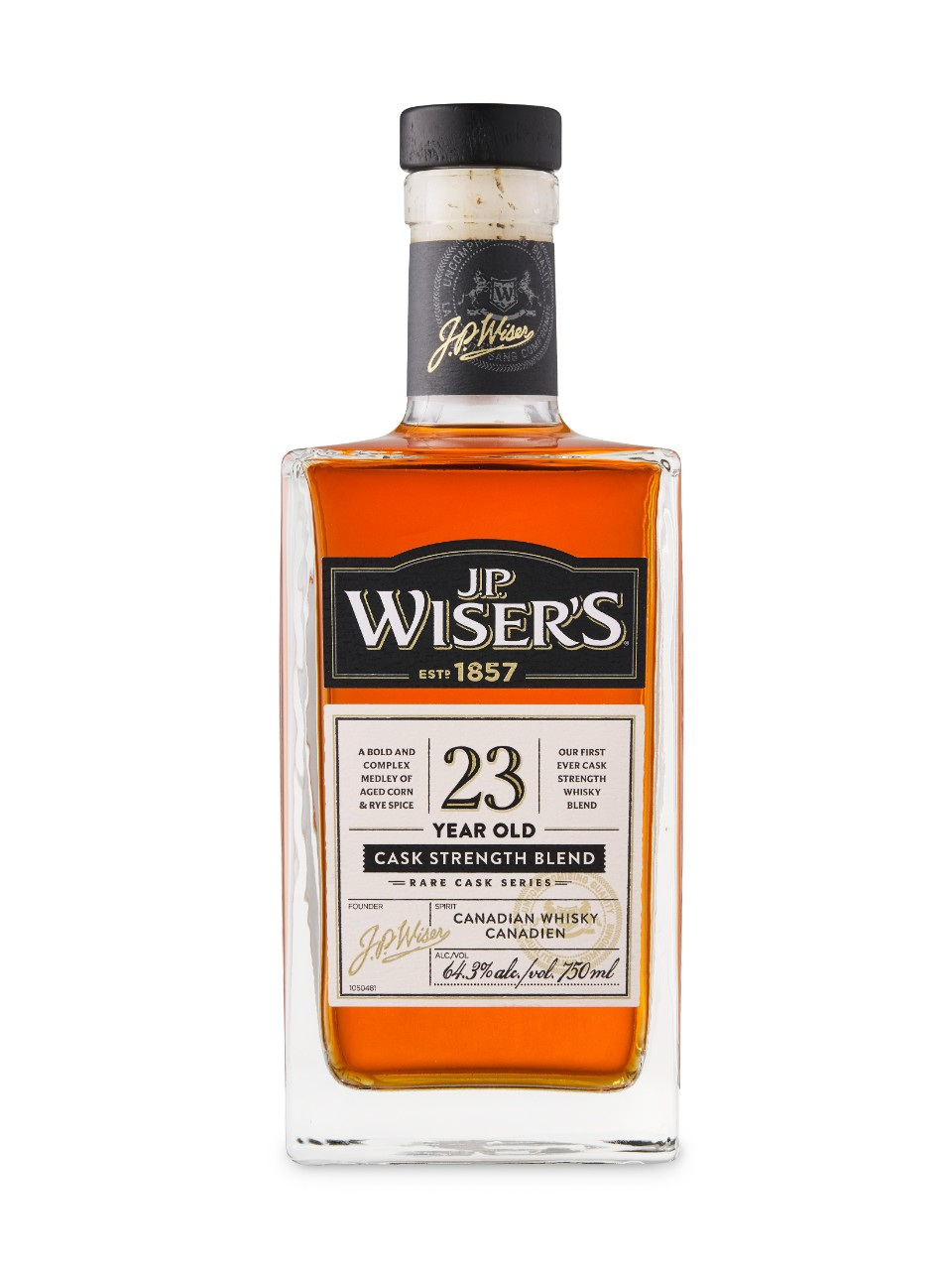 J.P. Wiser's 23YO Canadian Whisky from LCBO