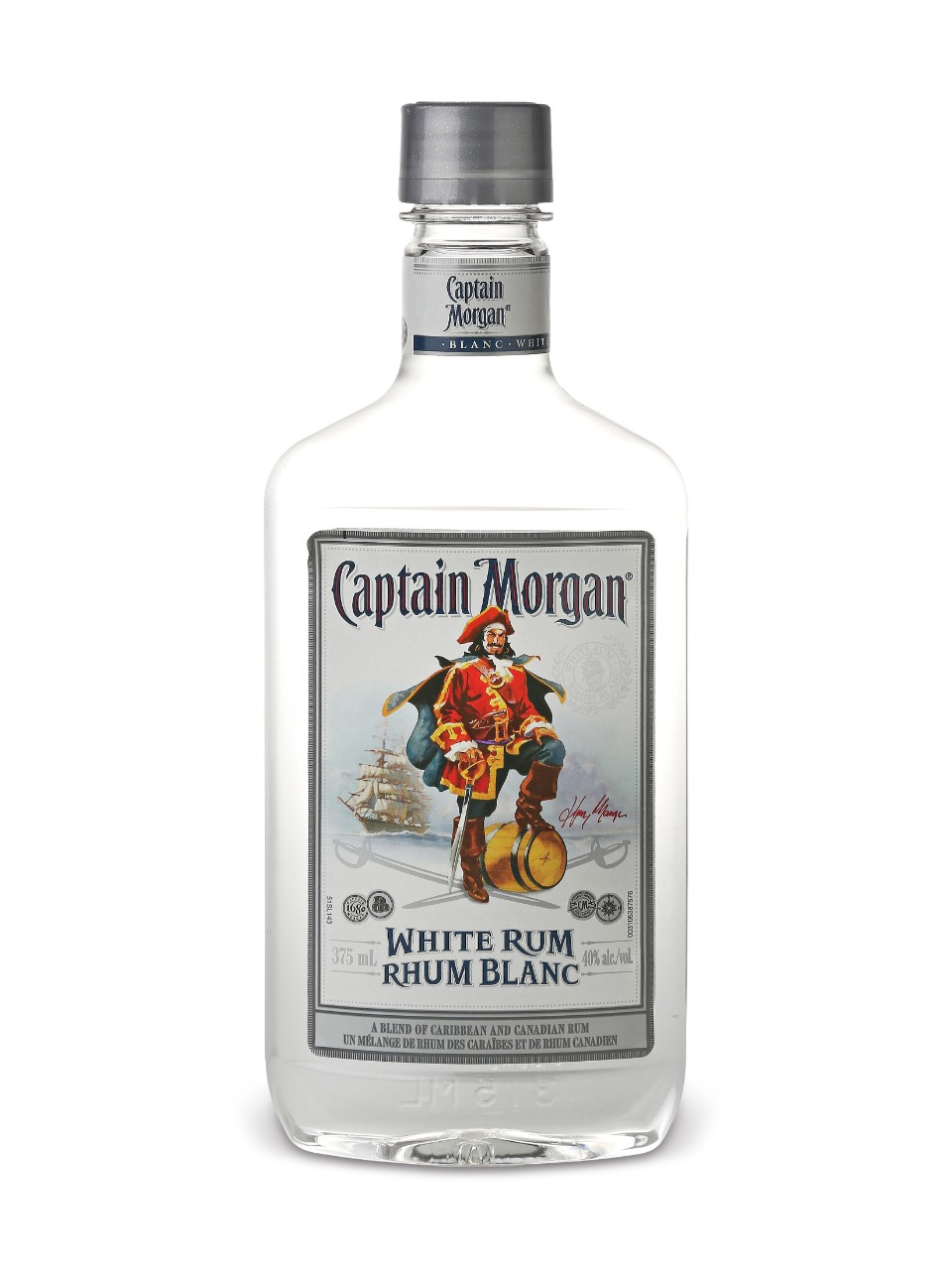 Image for Captain Morgan White Rum (PET) from LCBO