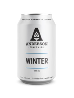 Anderson Craft Ale Winter Dubbel