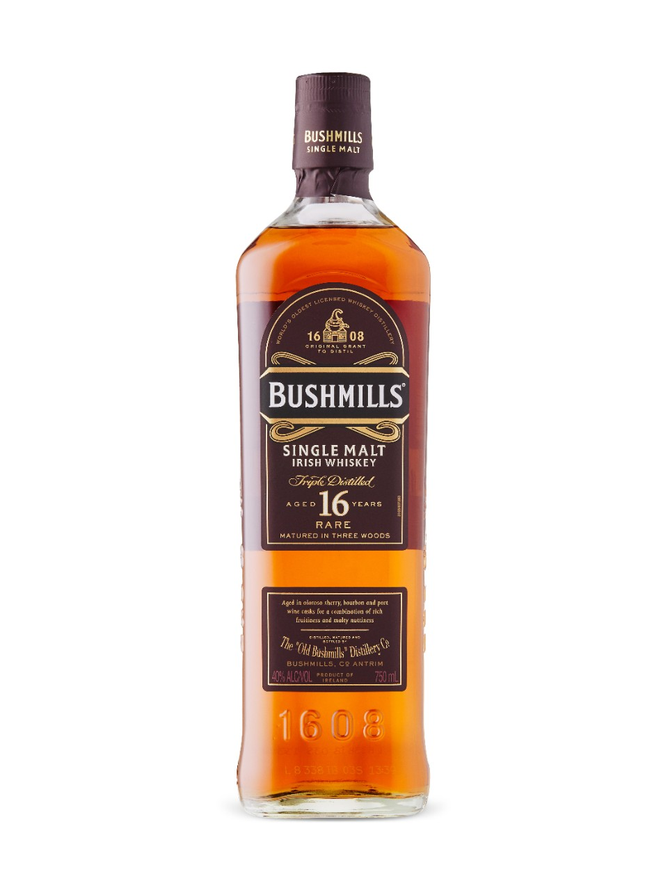 Image for Bushmills 16YO Whiskey from LCBO