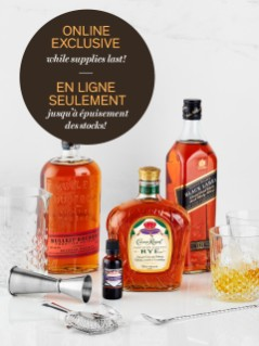 Whisky Cocktail Kit with FREE Barware Online Exclusive