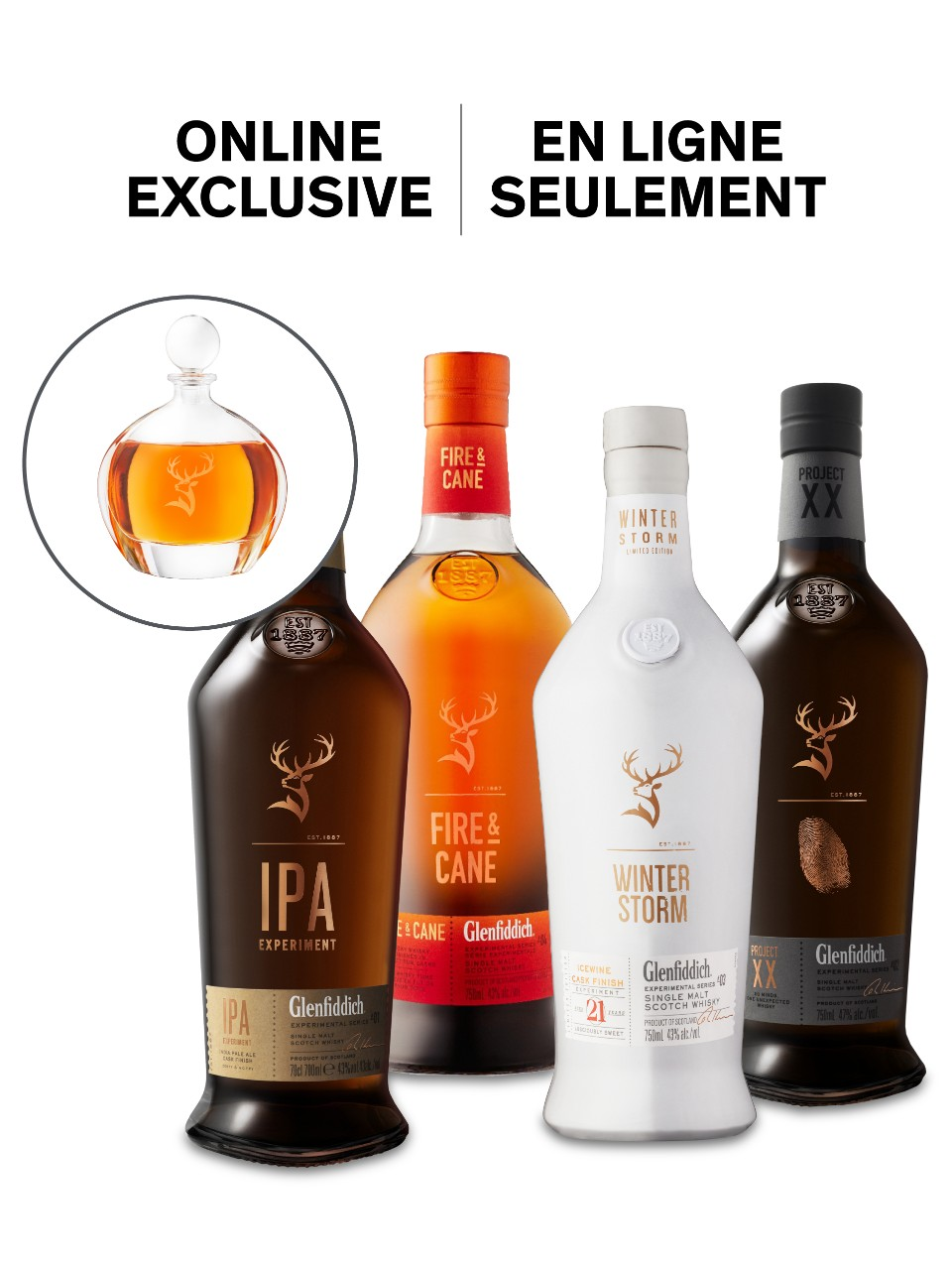 Image for The Glenfiddich Experimental Collection Online Exclusive from LCBO
