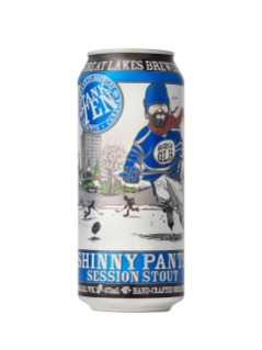 Great Lakes Brewery Shinny Pants Session Stout