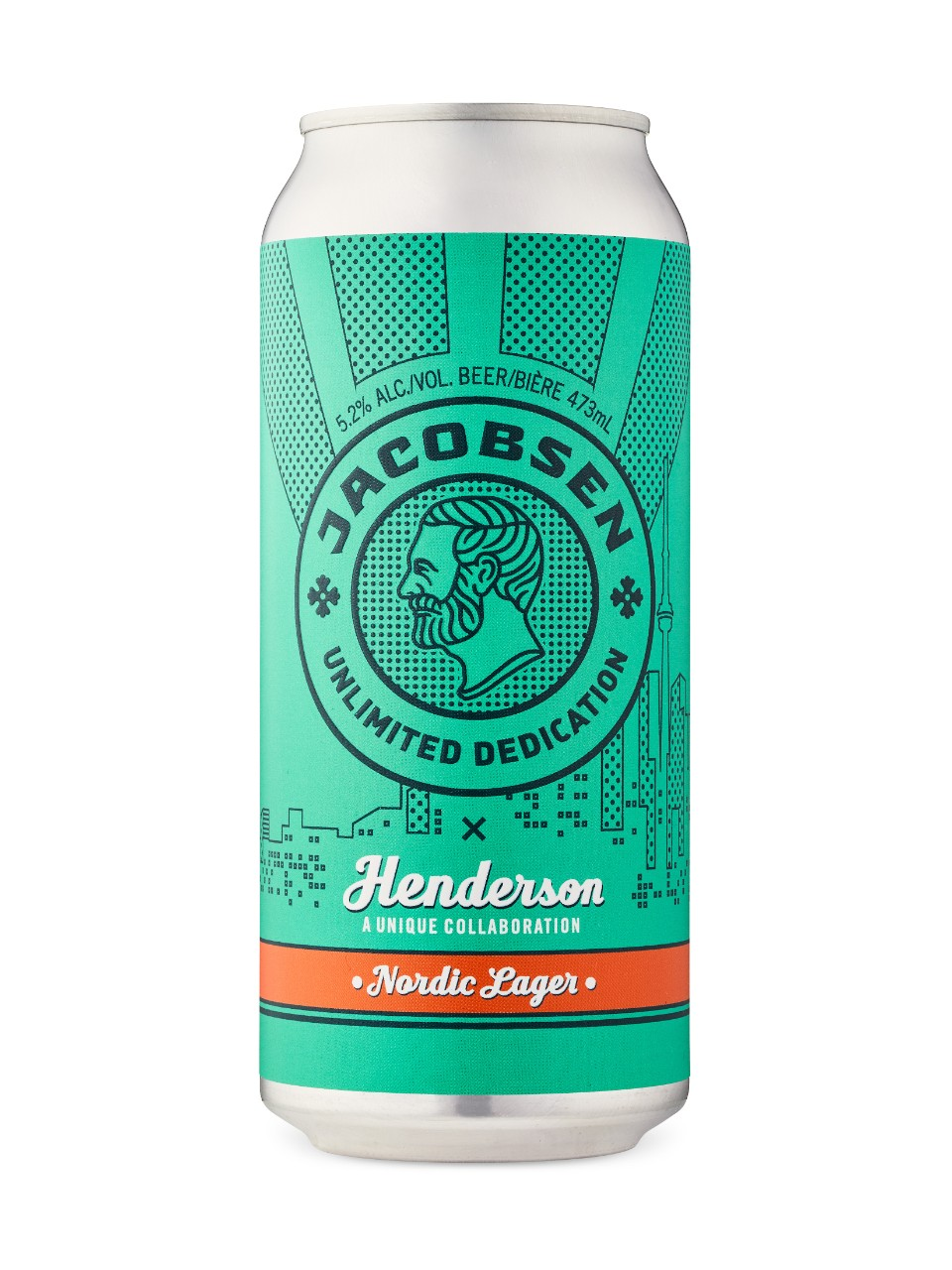 Jacobsen X Henderson Nordic Lager from LCBO