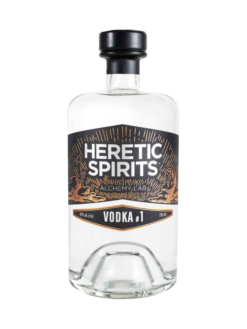 Heretic Spirits Vodka #1 from LCBO