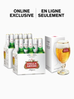 Stella Artois with FREE Chalice