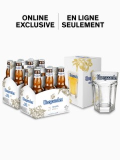 Hoegaarden with FREE glass
