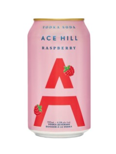 Ace Hill Raspberry Vodka Soda