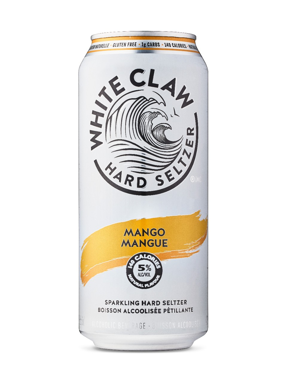 White Claw Hard Seltzer Mango from LCBO