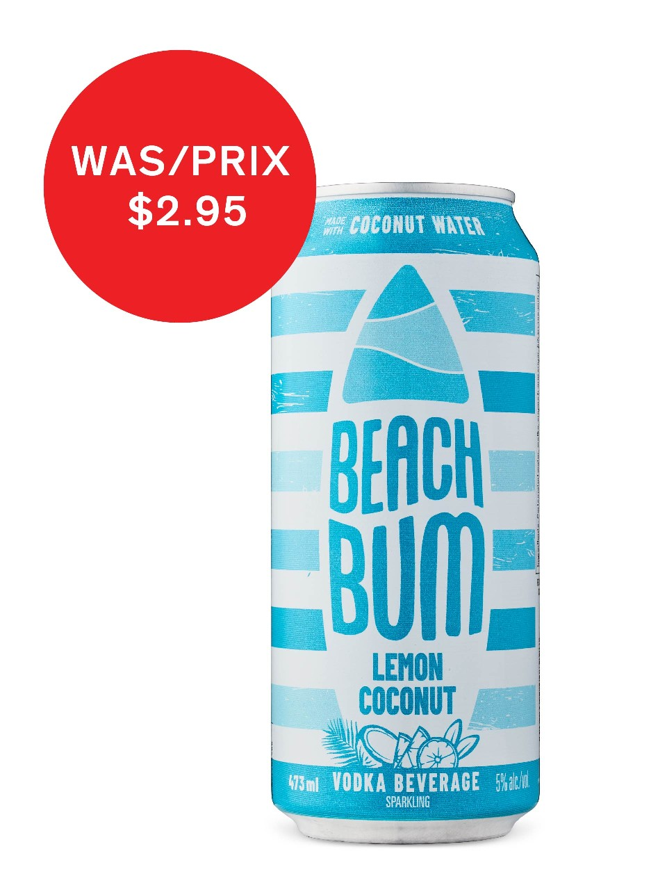 Image for Beach Bum Lemon Coconut from LCBO