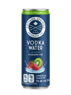 Cottage Springs Strawberry Kiwi Vodka Water