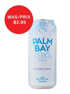 Palm Bay Zero Blackberry Lemon