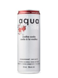 Aquarelle Berry Pomegranate Sparkling Vodka Water