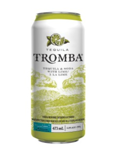 Tequila Tromba Soda And Lime