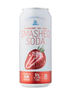 Georgian Bay Strawberry Smashed Soda