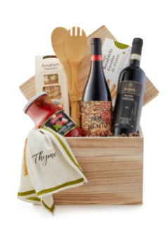 Italian Red Wines Gift Basket