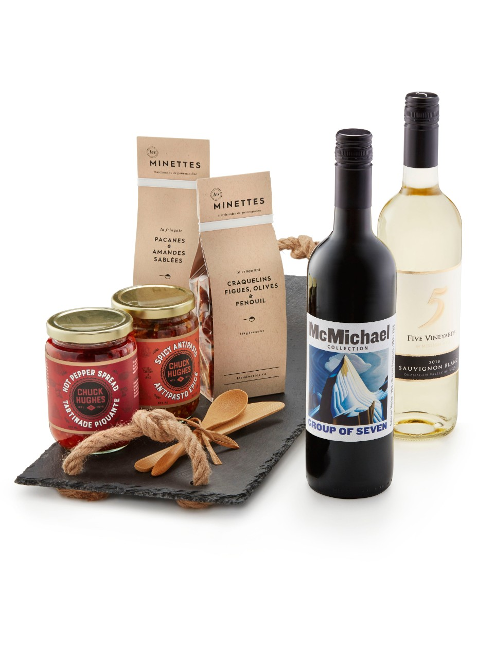 Image for Canada Collection Gift Basket from LCBO