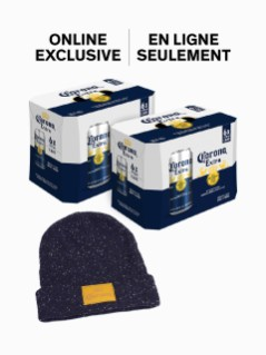 Corona 2 Pk With Toque Online Exclusive