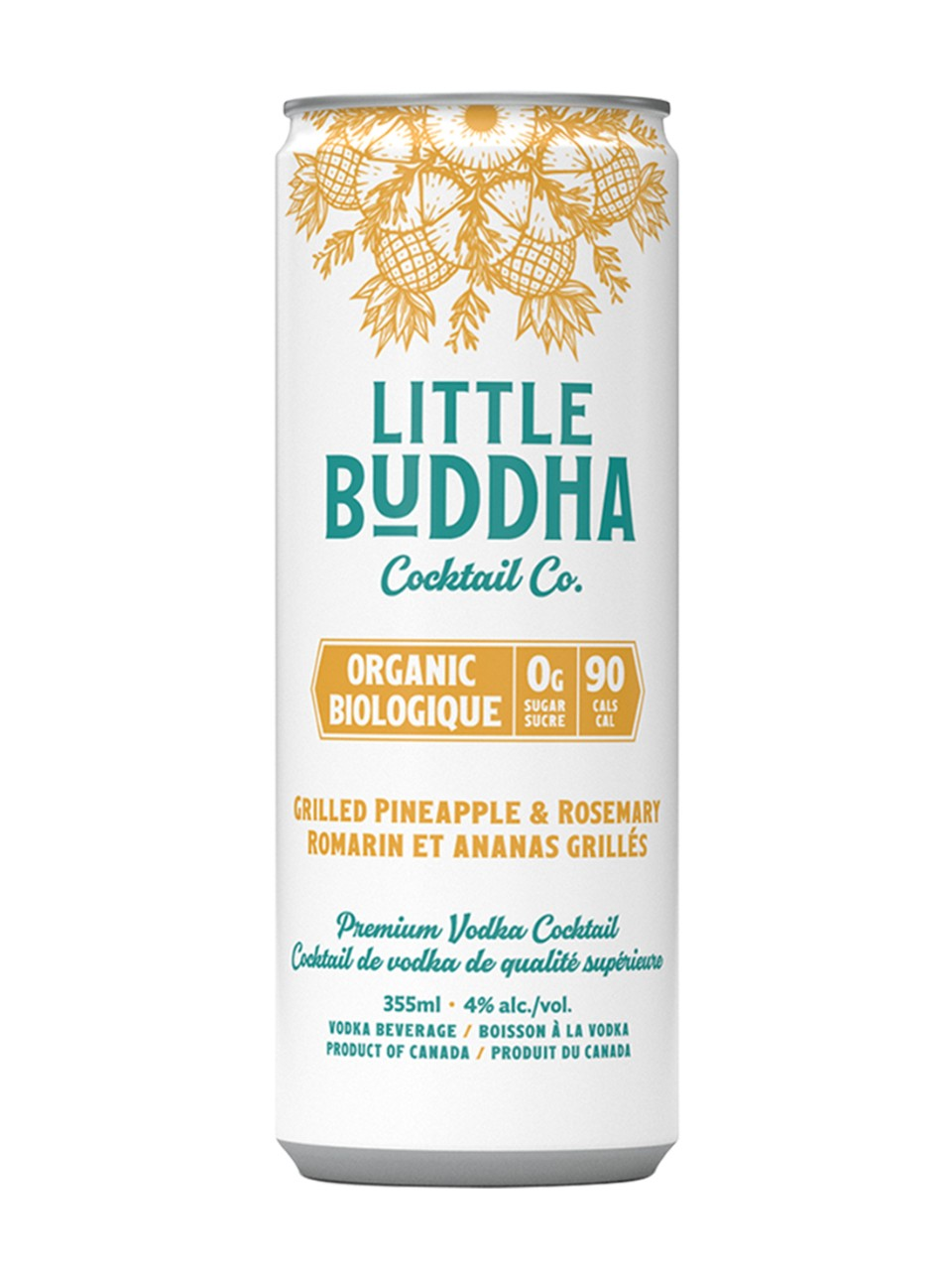 Image for Little Buddha Cc Grilled Pineapple Rosemary-Vodka from LCBO