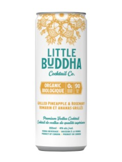 Little Buddha Cc Grilled Pineapple Rosemary-Vodka
