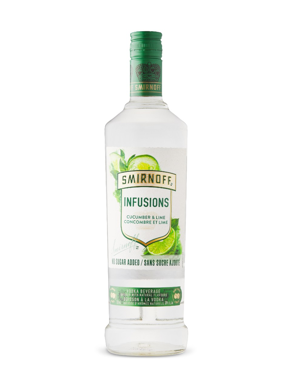 Image for Smirnoff Infusions Cucumber & Lime from LCBO
