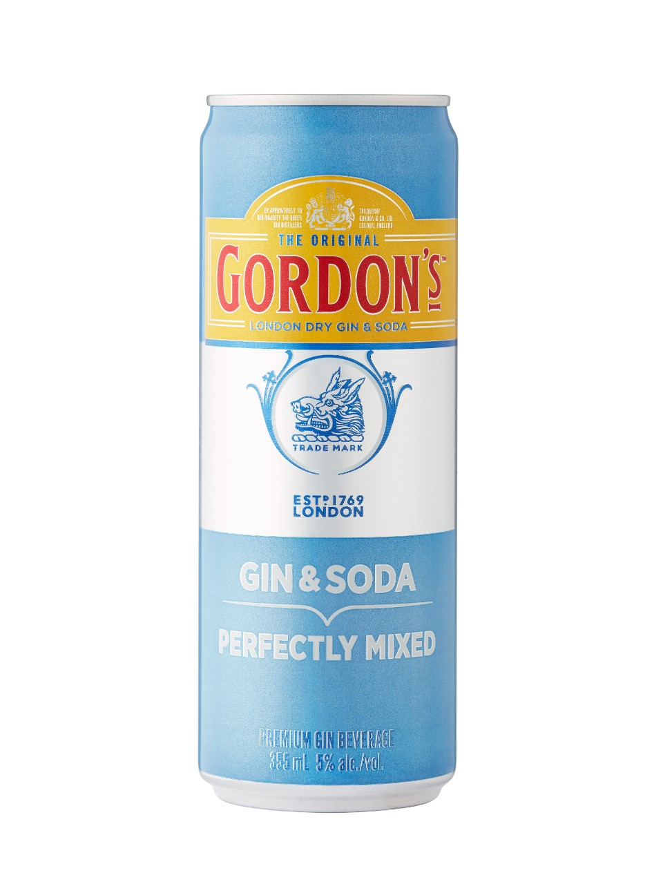 Image for Gordon's Gin & Soda from LCBO