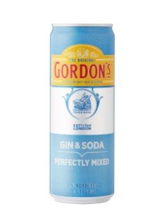 Gordon's Gin & Soda
