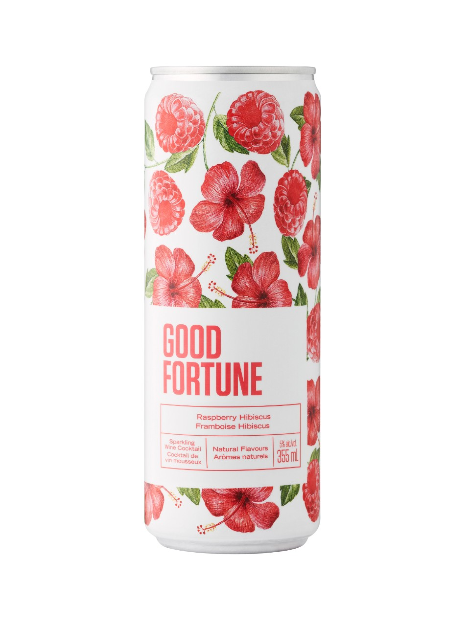 Good Fortune Raspberry Hibiscus Sparkling Wine Beverage from LCBO