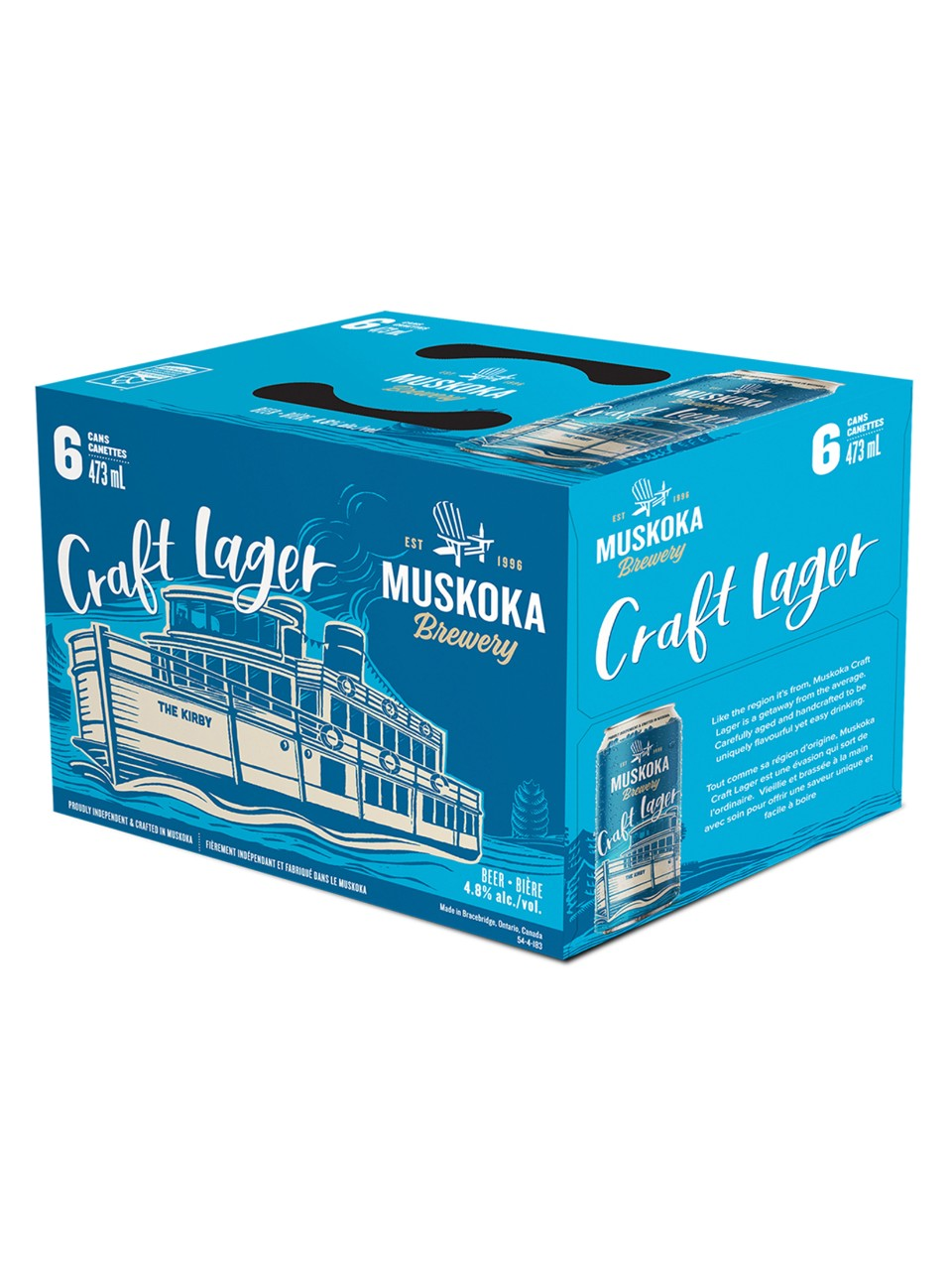 Muskoka Brewery Craft Lager from LCBO