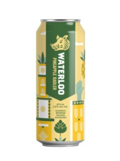 Waterloo Pineapple Radler