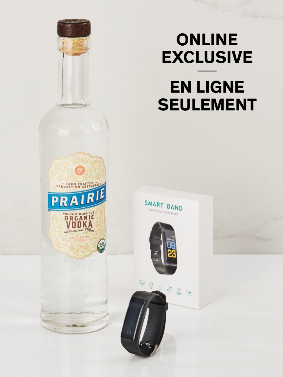 Prairie Organic Vodka With Free Fitness Watch from LCBO