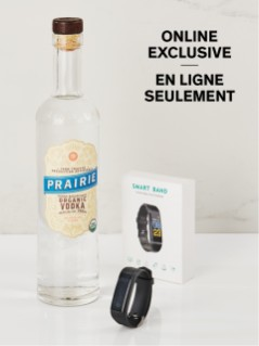 Prairie Organic Vodka With Free Fitness Watch