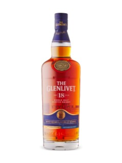 The Glenlivet 18YO Single Malt Scotch Whisky