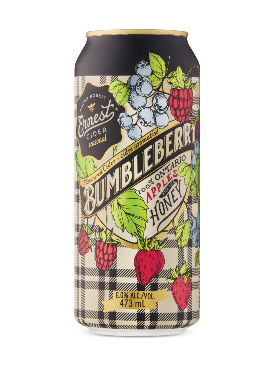 Image for Ernest Bumbleberry Cider from LCBO
