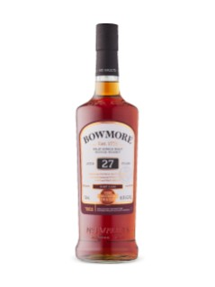 Bowmore 27 Yo, The Vintner's Trilogy