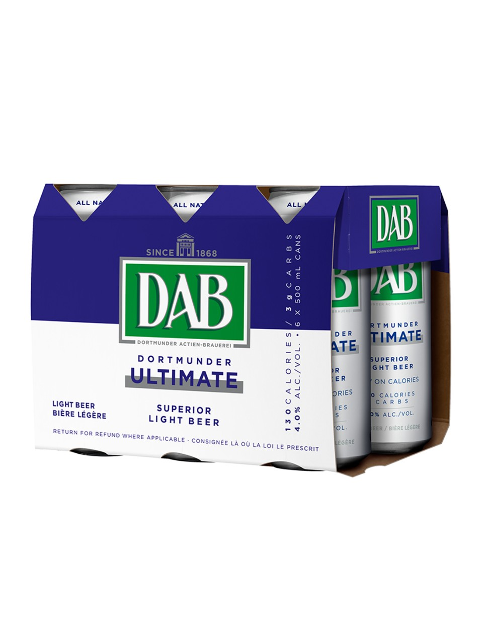 Image for Dab Ultimate Low Carb Beer from LCBO