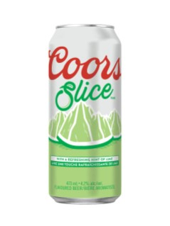 Coors Slice Lime